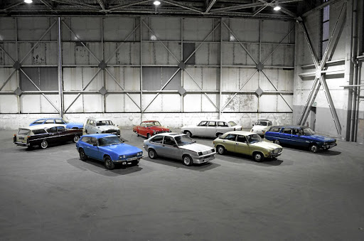 Some of the classics going to auction this month from the Jaguar Land Rover Classic Collection in the UK. Picture: NEWSPRESS UK