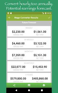 Paycheck Estimate - náhled
