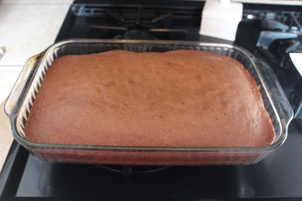 Bake in a 9x13 pan and set aside to cool.