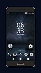 Material Space Theme APK screenshot thumbnail 2