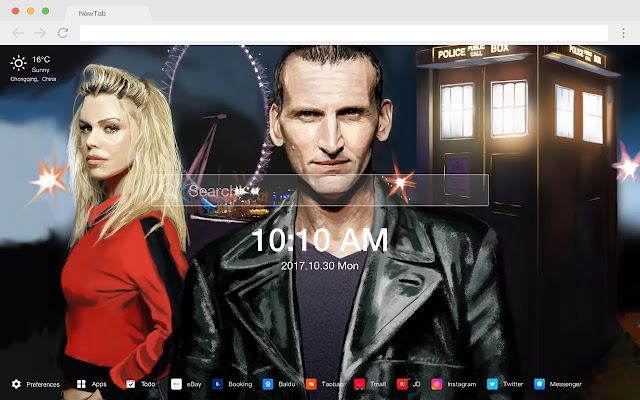 Doctor Who Popular Movies New Tabs HD Themes