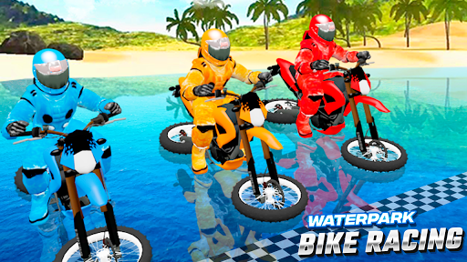 Waterpark Bike Racing 1.0 screenshots 1