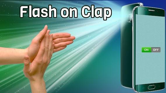 Flashlight on Clap screenshot 03