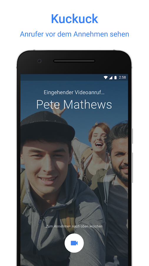 Google Duo – Screenshot