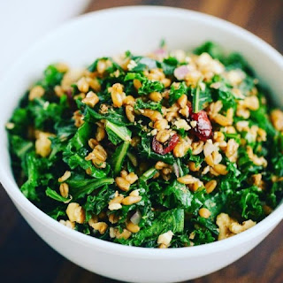 Kale and Spelt Berry Salad.
