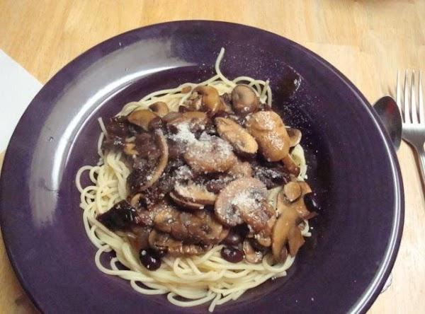 Mushroom And Black Bean Pasta Sauce Recipe