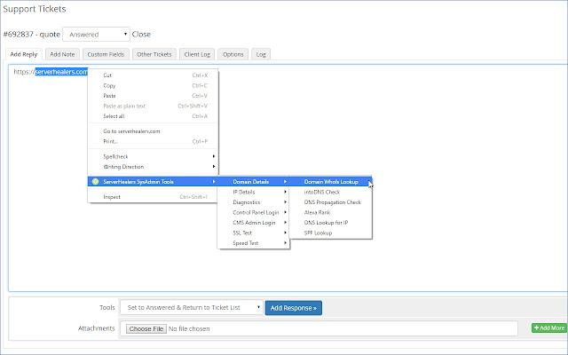 ServerHealers SysAdmin Tools