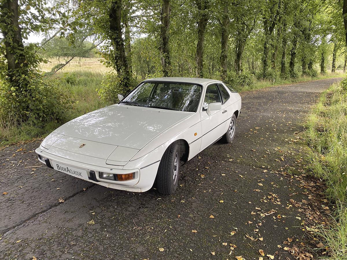 Porsche 924 Hire Glasgow