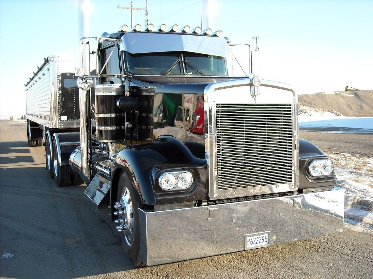Kenworth W900L A Model Headlight Truck