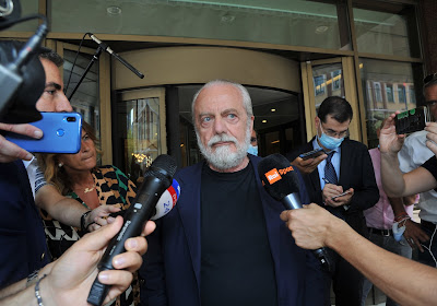 Aurelio De Laurentiis testé positif au Covid-19