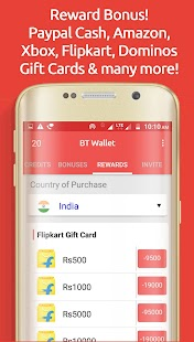 BT Wallet Cash Reward - náhled