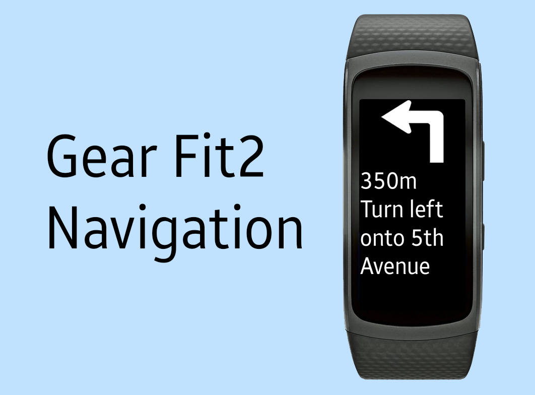 Gear Fit2 Navigation- screenshot