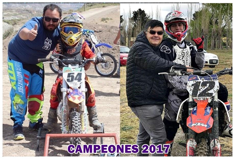 Mati Urra y Juan Rutheford, los campeones adelantados