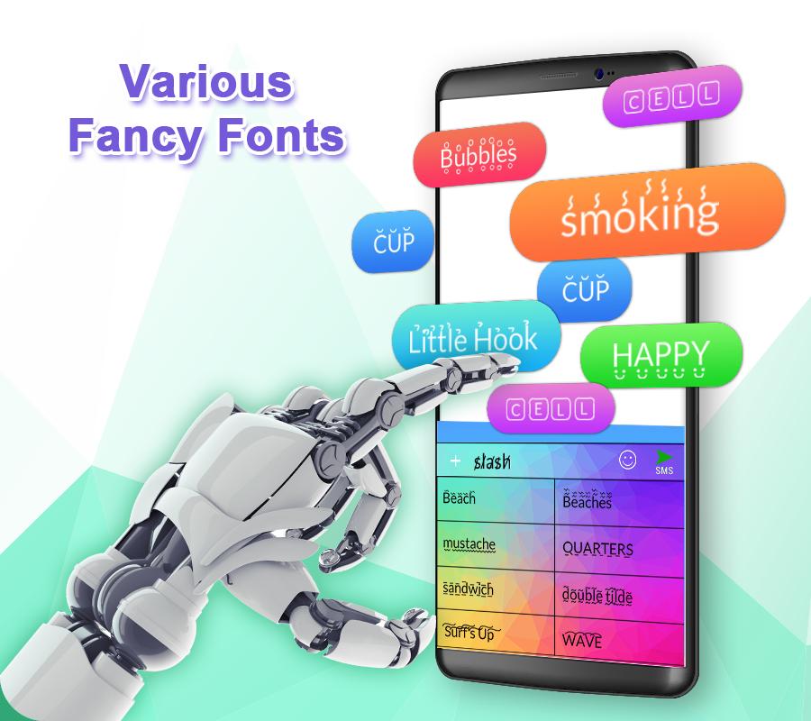 TouchPal Keyboard-Cute Emoji,theme, sticker, GIFs screenshots