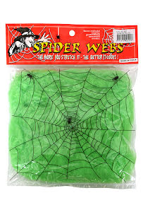 Grönt spindelnät