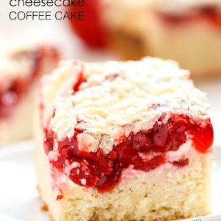 Cherry Cheesecake Coffee Cake