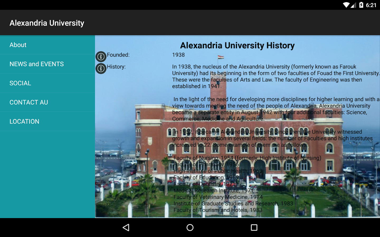 Alexandria University (Unreleased)- screenshot