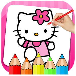 Kitty Coloring Book & Drawing Game