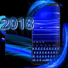 Metal Azure Keyboard icon