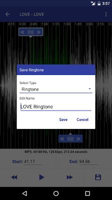 Easy Mp3 Cutter RingTone Maker - screenshot