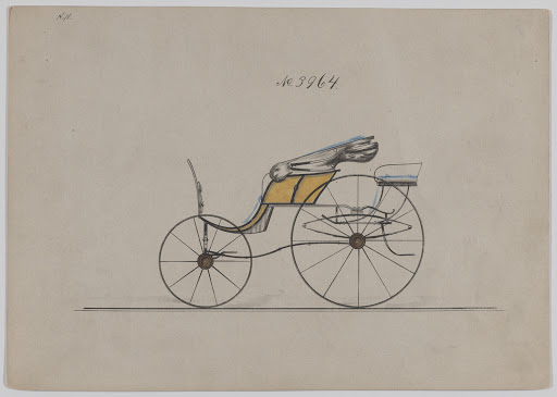 Design for Pony Phaeton, no. 3964