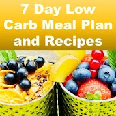 7 Day LOW CARB Diet Meal Plan and Recipes