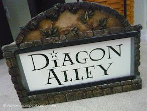 Photo: Diagon Alley Sign