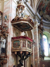 Photo: 7-Todsünden-Kanzel, Pfarrkirche Sankt Bartolomäus, Reichenthal