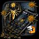3D Golden Spider Gravity Theme Download on Windows