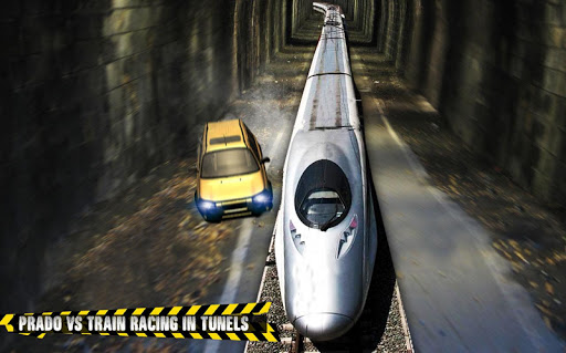 Train vs Prado Racing 3D  screenshots 13