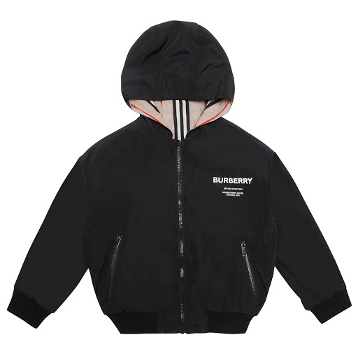 Primary image of Burberry Boys Reversible Jacket