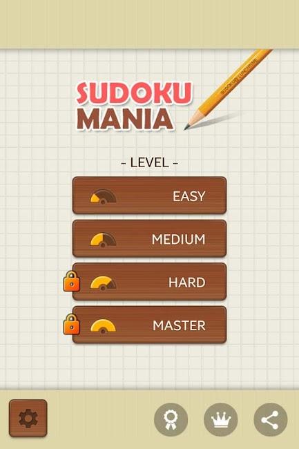 #4. Sudoku Mania (Android)