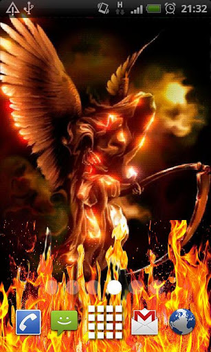 Demonic Angel Live Wallpaper