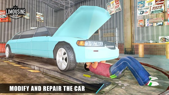 Limo Car Mechanic Simulator 3D- screenshot thumbnail