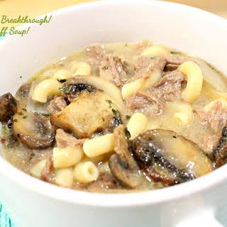 Beef Stroganoff Soup!.