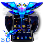 3Dネオンオウルテーマ icon