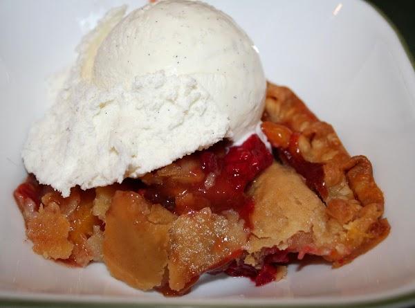 This pie is scrumptious with vanilla bean ice cream!  ENJOY!