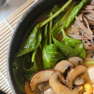 Healing Miso Soba Noodle Soup
