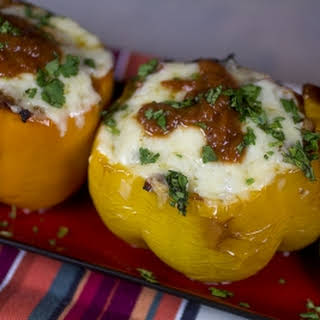Taco Style Stuffed Bell Peppers.