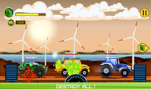 Two-Player-Spiel - Crazy Racing über Wifi Screenshot