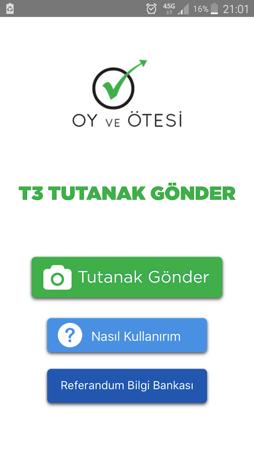T3 Tutanak Gönder- screenshot