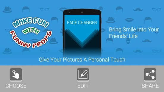 FACE CHANGER - EDITOR- screenshot thumbnail