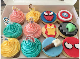 Princess cupcakes & Super heroes