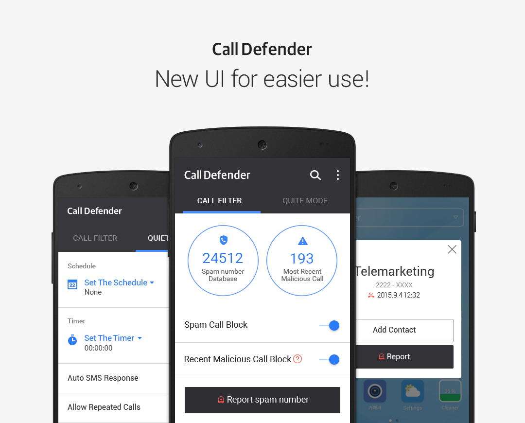 Call Defender- screenshot