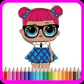 Tải Lol Surprise Dolls Coloring Game 1 miễn phí