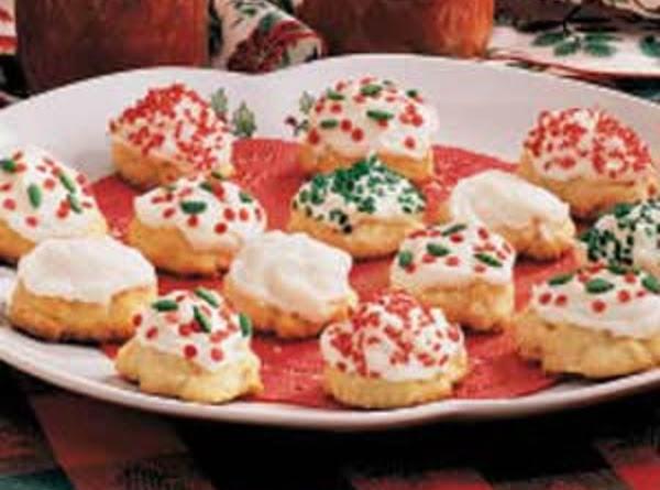 Italian White Cookies Recipe