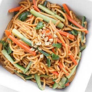 Asian Cold Noodle Salad.