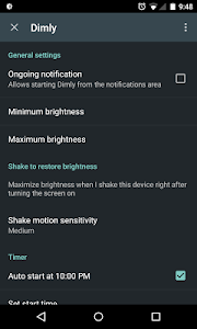 Dimly - Screen Dimmer v0.6.3 Premium
