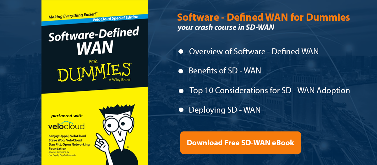 Download Free SD -WAN eBook