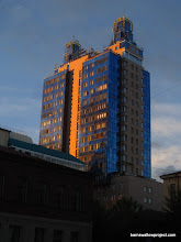 """Photo: Residents of Nashville: Novosibirsk has a """"Batman Building"""" too; also referred to as """"Bluetooth"""""""